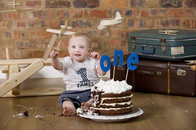 cake smash photo shoot in pretoria
